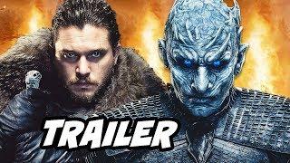Video Game Of Thrones Season 8 Trailer - Jon Snow vs White Walkers Easter Eggs Breakdown MP3, 3GP, MP4, WEBM, AVI, FLV Maret 2019