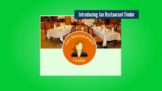 Jan Restaurant Finder YouTube video