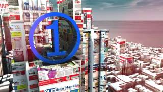 video tribun Manado 1menit 2016