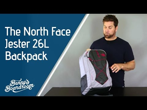 The North Face Jester Backpack Walkthrough - Benny's Boardroom