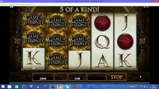 All of my Game of thrones online slot wins and free spins features, remember to leave a like if you enjoyed!