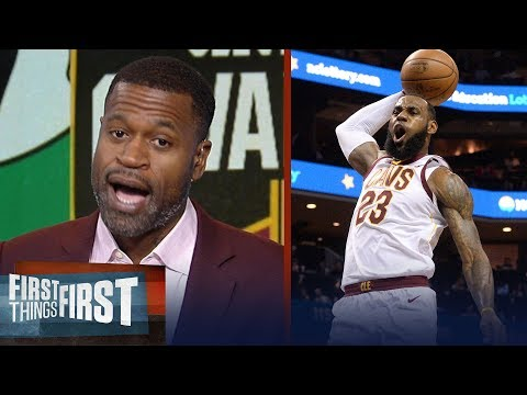 Stephen Jackson on how LeBron will lead Cavs to a Game 3 win over Boston   NBA   FIRST THINGS FIRST
