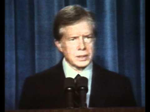 Jimmy Carter Iran hostage crisis speech