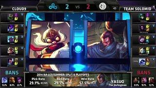 Nonton Cloud 9 vs TSM Game 5 | Finals NA LCS Summer 2014 Playoffs | Team Solomid vs Cloud 9 | C9 vs TSM G5 Film Subtitle Indonesia Streaming Movie Download