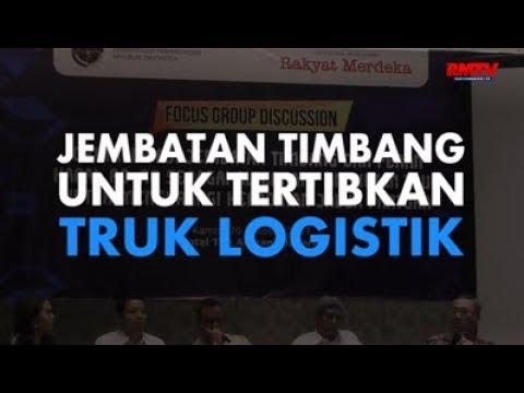 Jembatan Timbang Untuk Tertibkan Truk Logistik