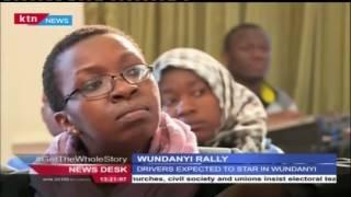 Wundanyi Rally To Start On Saturday