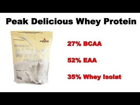 Peak Delicious Whey Protein - Review, Tipps und Erfahrung - MUSKELMACHER-SHOP.DE