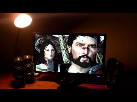 Acer 23 inch S231HL LED Monitor Review and Dragon Age 2 Gameplay