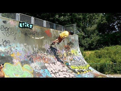 Opening Funbox Skatepark Spike en legale graffitimuur / Spijkenisse 2013
