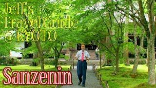 Sanzenin/三千院  この一面の苔はとても美しいです。
