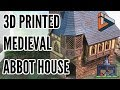 3D Printed Medieval Abbot House by Infinite Dimensions Games