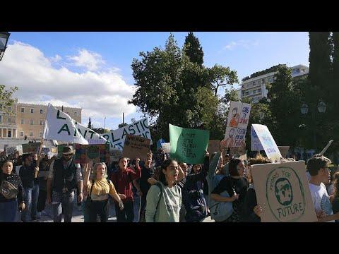 Παρασκευή για το Μέλλον: Πορεία μαθητών για το κλίμα