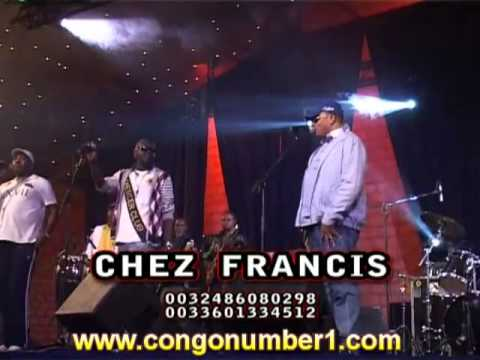 JB MPIANA ET LE WENGE BCBG CHEZ FRANCIS FIN