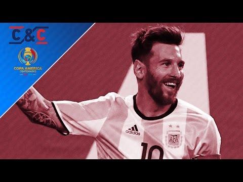 Messi, Coutinho & Jermaine Jones star in Copa America