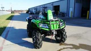 5. 2014 Arctic Cat MudPro 700 LTD Team Arctic Green  For Sale $11,499  Overview and Review