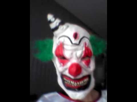 Mon deguisement pour HALOWEEN (clown)