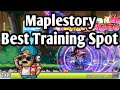 PATCHED. Maplestory: Best Training Spot Ever! - Mr Lee's Airlines
