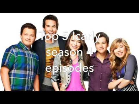 Top 5 Icarly season 4 episodes