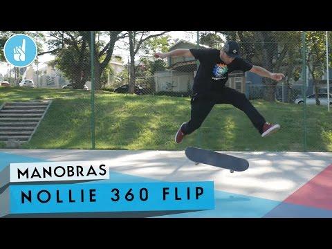 Como mandar Nollie Kickflip | sobreskate