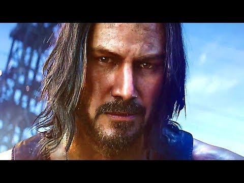 CYBERPUNK 2077 Bande Annonce (Keanu Reeves, 2020)