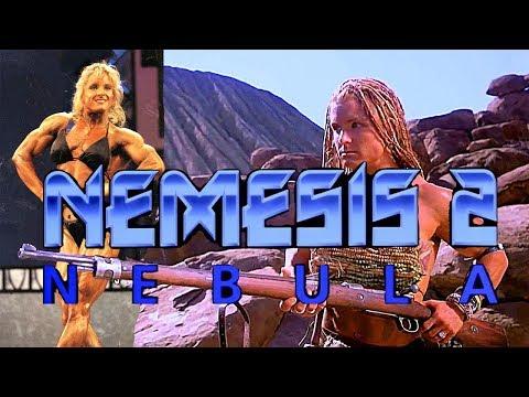 American bodybuilding babe Sue Price in Nemesis 2: Nebula. Part #1