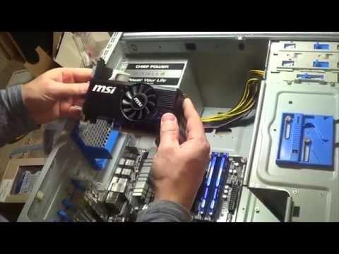 Как сделать сборку компьютера