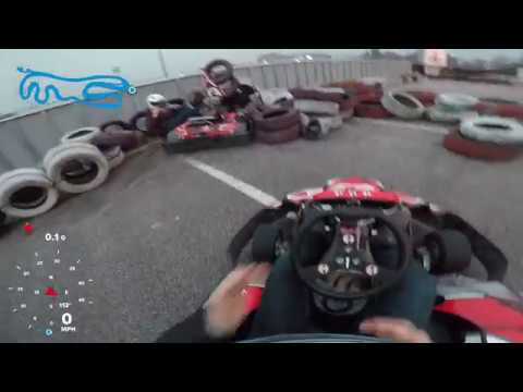 First Time Gokart Rider Doesn  t Know How To
