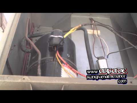 How To Repair Broken Air Conditioner Compressor Wiring Plus Fan Motor Not Starting