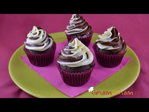 cupcake al cioccolato - la videoricetta