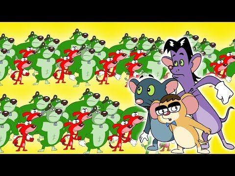 Rat-A-Tat |'Tiny Doggie Brothers Vs Three Mice Pranks Cartoons'| Chotoonz Kids Funny Cartoon Videos