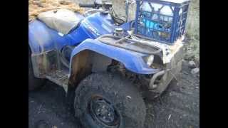 3. Yamaha Grizzly 350 ATV