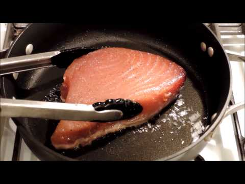 How To Cook Seared Tuna Steak - Episode 24