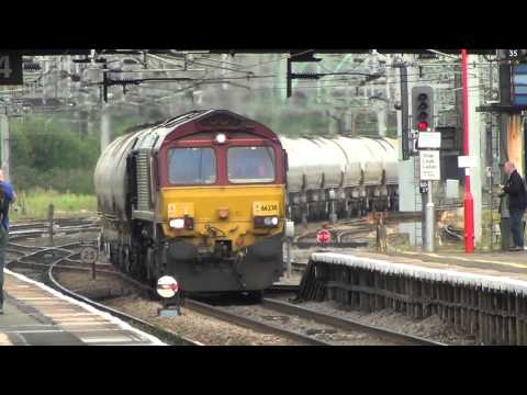 WCML Freight at Stafford - 02 August 2012