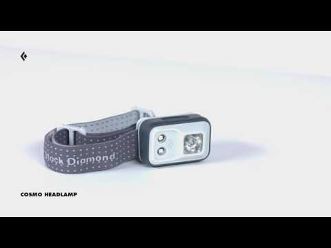 Vídeo - Lanterna de Cabeça Black Diamond Cosmo 200 lúmens