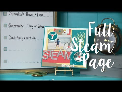 How to Make Steam Home Decor - Sizzix