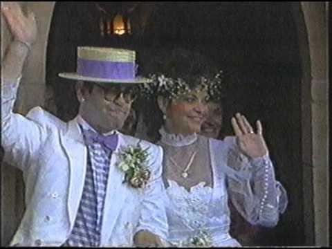 Elton John Marries Renate On This Day - Graham Kennedy Coast to Coast - 14 February 1989