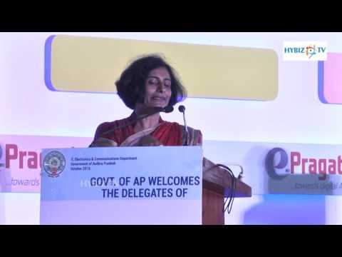 Vimi Nijhawan VP NTP Data Launch of E pragati