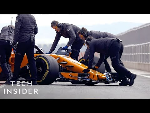 What Makes A Formula 1 Race Car So Fast