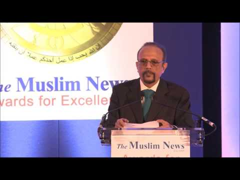 Fourteenth The Muslim News Awards for Excellence 2016 - Ahmed Versi Speech