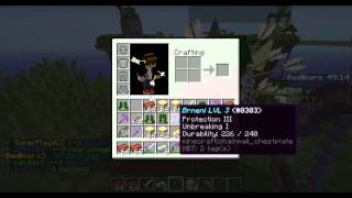 Minecraft:minihry-timelapse 3:Bed wars [By motorovka]