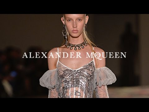 Alexander McQueen Spring/Summer 2017 Runway Show