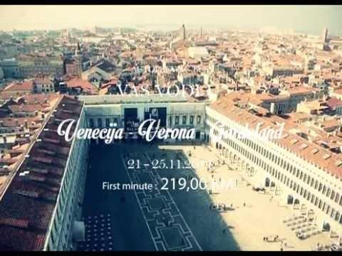 Venecija - Verona - Gardeland