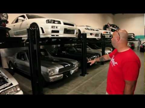 Paul Walkers Car Collection