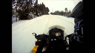 10. 2014 Ski-Doo MXZX 600 etec Top Speed