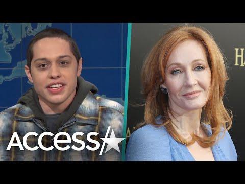 Pete Davidson Slams J.K. Rowling's Transgender Comments