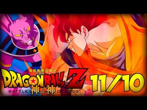 Dragon Ball Z A Batalha dos Deuses ►Trailer Dublado Full HD◄