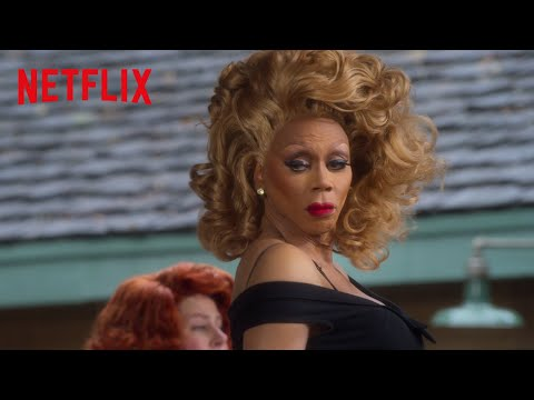 AJand theQueen|RuPaul& Michael Patrick King Partner for a Dream Collab Come True |Netflix