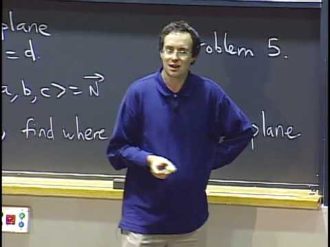 Lec 7 | MIT 18.02 Multivariable Calculus, Fall 2007
