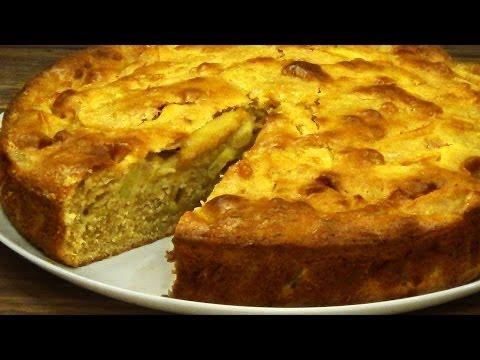 Рецепт вкусный яблочный пирог