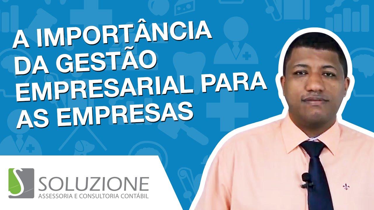 Você conhece a Importância da Gestão Empresarial para PME ?